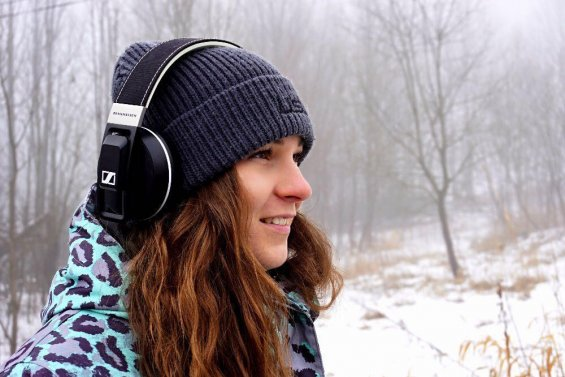 Snowboardcrossařka Vendula Hopjaková a URBANITE XL Wireless
