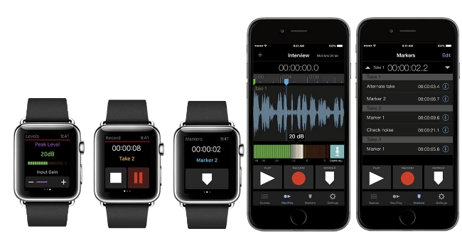 Apogee MetaRecorder - iPhone + AppleWatch
